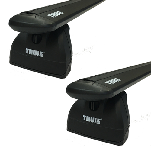 Thule 460r Rapid Podium Car Roof Rack Black WingBar Evo Crossbars