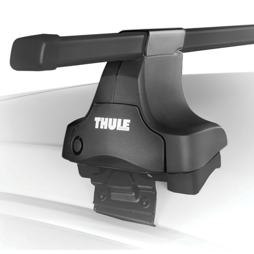 Thule Complete Traverse 480c Car Roof Crossbar Racks for Naked Roofs