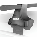 Thule 4802c Complete 1 Single Crossbar Traverse Gutterless Car Roof Rack