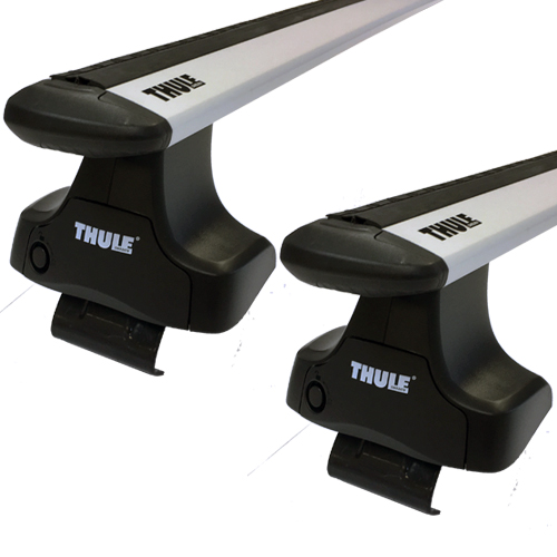 Thule 480r Rapid Traverse WingBar Evo Silver Complete Car Roof Rack
