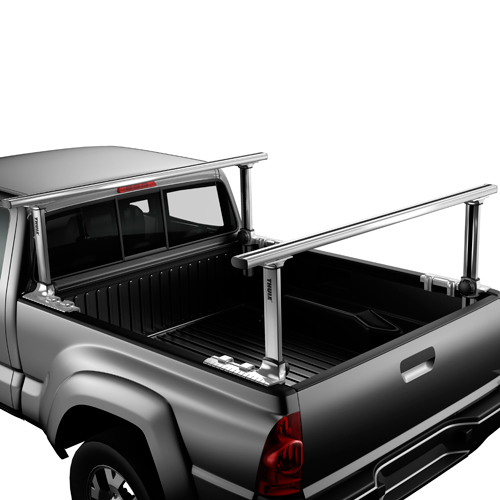Thule 500xt Xsporter Pro Adjustable Pickup Truck Bed Racks, Silver
