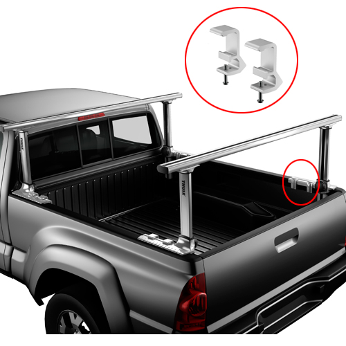Thule Xsporter Pro 500xt Toyota Tacoma 2016+ Height Adjustable Aluminum Truck Rack
