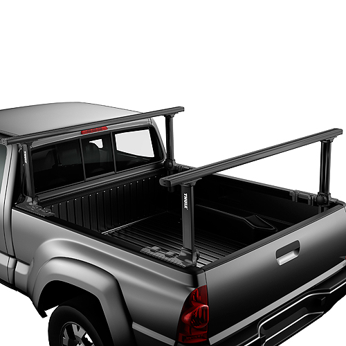 Thule 500xtb Xsporter Pro Adjustable Aluminum Pickup Truck Rack, Black