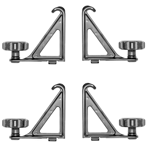 Thule 502 Aero Load Stops for Xsporter and TracRac XT Bars