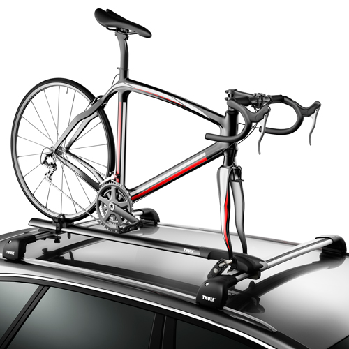 Thule 526xt Circuit Fork Mount Bike Carrier Rack for Car Roof Racks