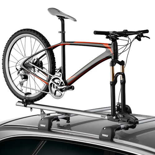 Thule ThruRide 535 Fork Mounted Car Roof Bike Racks Bicycle Carriers