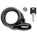 Thule 6 foot Cable Lock and Keys 538xt for locking bikes, kayaks