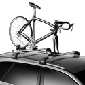 Thule 569001 Sprint XT T-Track Fork Mount Bike Rack Bicycle Carrier for Car Roof Racks