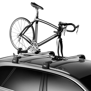 Thule Sprint XT 569001 T Track Fork Mount Bike Rack Bicycle Carrier For Car  Roof