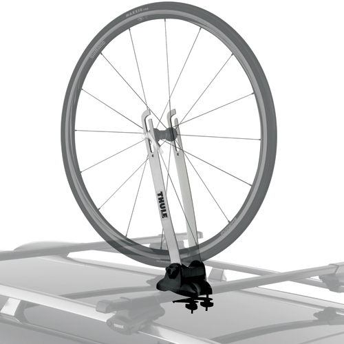 Thule 593 Wheel-On Bicycle Front Wheel Carrier for Roof Racks