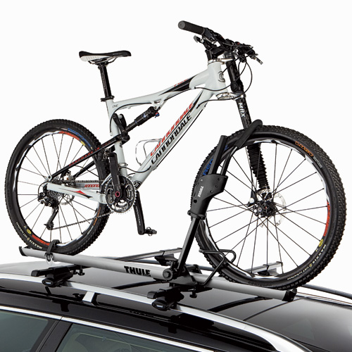 Thule 594xt Sidearm Upright Bike Racks and Bicycle Carriers for Car Roof Racks