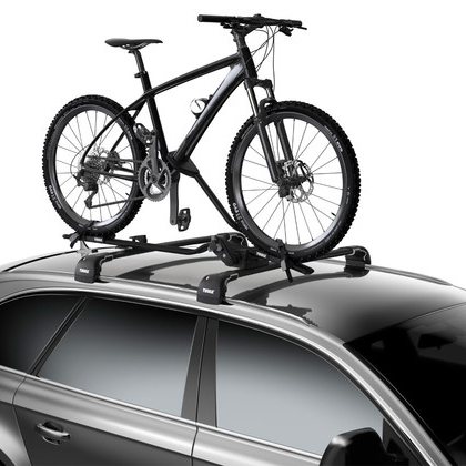 Thule ProRide 598003 Upright Bike Bicycle Carrier for Car Roof Racks