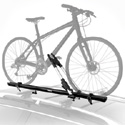 Thule 599xtr Big Mouth Upright Bike Racks and Bicycle Carriers for Car Roof Racks