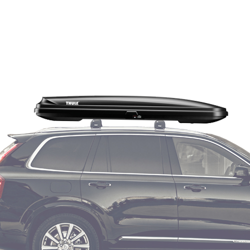 Thule Pulse Alpine 613 Black Cargo Box for Car Roof Racks