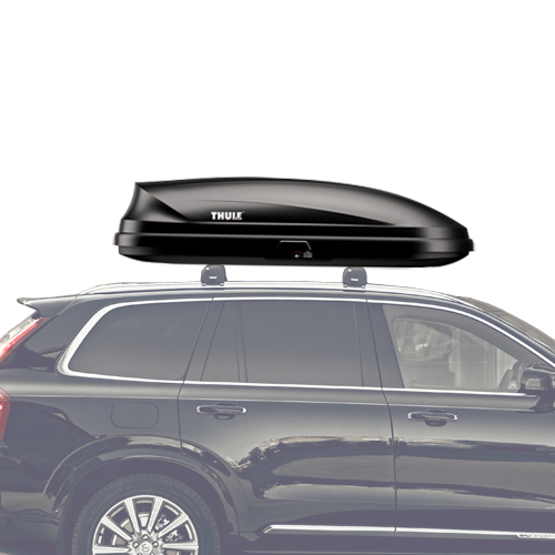 Thule 614 Pulse M Medium Black Cargo Box for Car Roof Racks