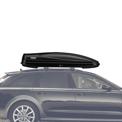 Thule Force Alpine 623 Black Cargo Box for Car Roof Racks