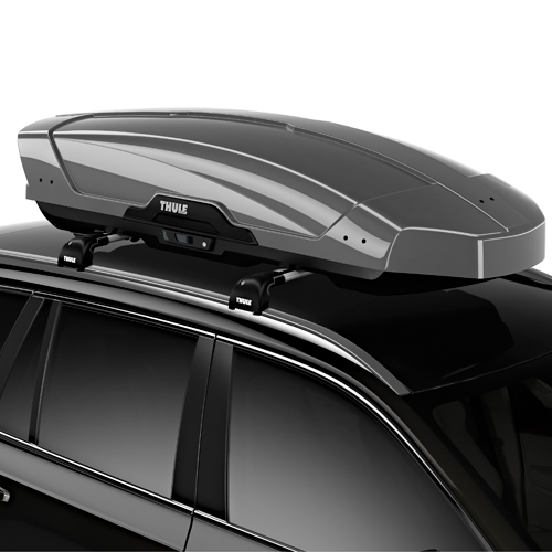 Thule Motion XT-L Large High Gloss Titan 6297t Car Roof Rack Cargo Box