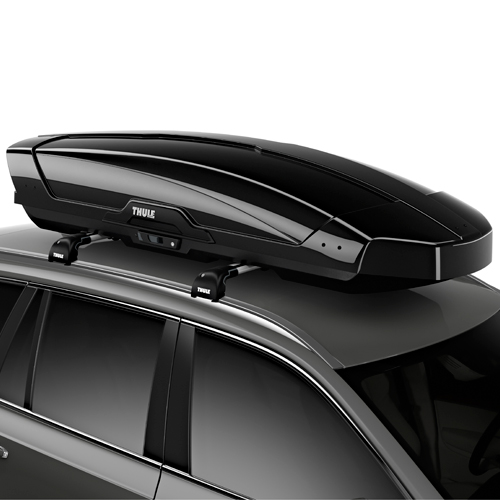 Thule Motion XT-XL Extra Large High Gloss Black 6298b Cargo Box for Car Roof Racks