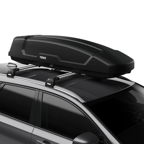 Thule Force XT Sport 6356b Matte Black Cargo Box for Car Roof Racks