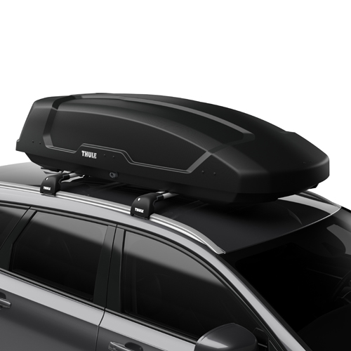 Thule 6357b Force XT-L Large Matte Black Cargo Box for Car Roof Racks