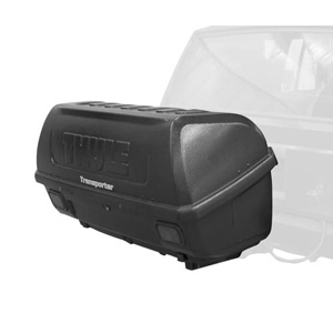 Thule 665c Transporter Combi 13 cubic foot Trailer Hitch Receiver Mounted Cargo Box
