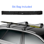Thule 7291 SkiClick Cross Country Nordic Ski Carrier with 7295 XC Ski Bag, 40% Off