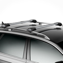 Thule 7501234c AeroBlade Edge 2 Bar Roof Rack for Raised Railings