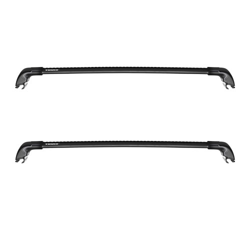 Thule AeroBlade Edge Black 2 Bar Fix Point and Flush Rail Car Roof Rack 7601b 7602b 7603 7604b