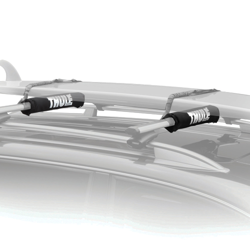 Thule 804 24 Rack Pads for Surfboards, SUPs, Windsurfers on AeroBlade and Aero Load Bars, Pair