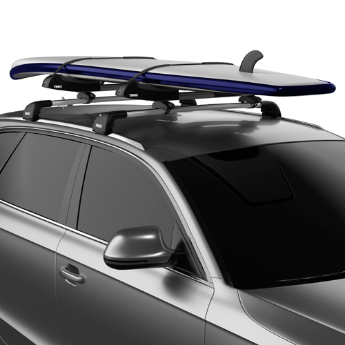 Thule SUP Taxi XT 810001 Locking Stand Up Paddleboard SUP Carrier for Car Roof Racks, Rebox Item