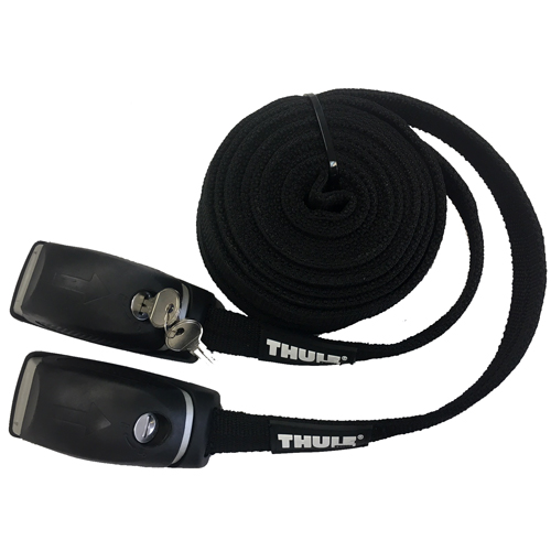 Thule 832 10 Foot Locking Cargo Straps with Steel Inner Cables