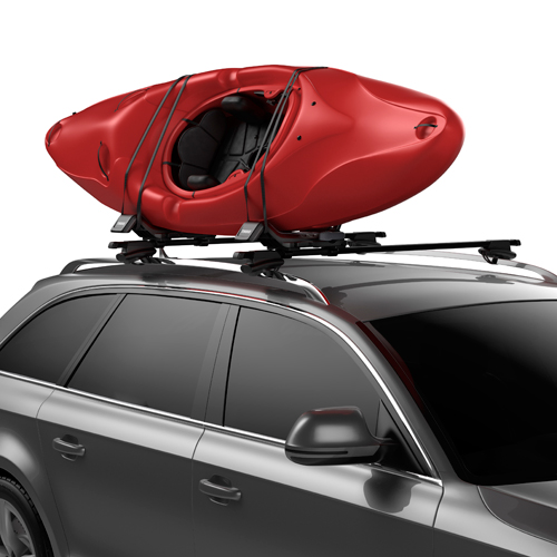 Thule Hull-a-port XT 848 Car Roof Rack Folding J Style Kayak Carrier