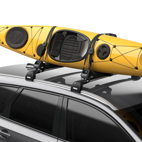 Thule 849000 Hull-a-port Aero Folding Kayak Carrier for Car Roof Racks