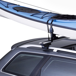 Thule 875xt HydroGlide slide-through Kayak Saddles for Roof Racks