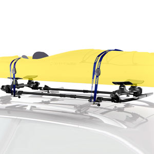 Thule SlipStream 887xt Load Assist Kayak Carrier for Car Roof Racks