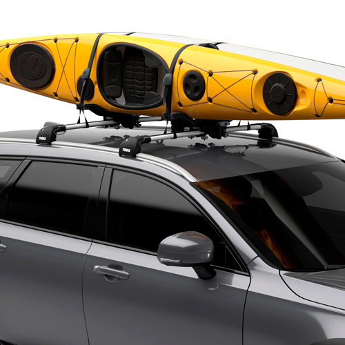 Thule 890000 Compass Car Roof Rack Kayak and SUP Carrier