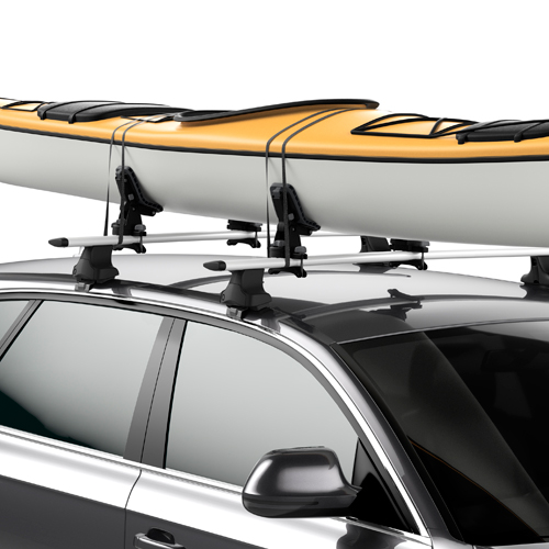 Thule DockGrip 895 Kayak Saddles and SUP Carriers for Car Roof Racks