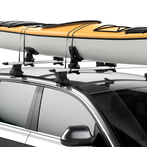 Thule DockGlide 896 Kayak Saddles Carriers for Car Roof Racks
