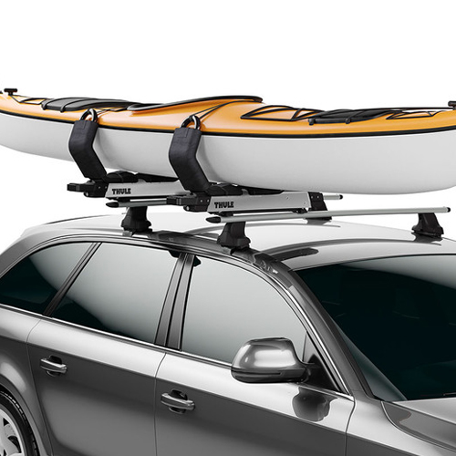 Thule Hullavator Pro 898 Lift Assist Kayak Carrier for Car Roof Racks  sc 1 st  Rack Warehouse : thule canopy roof rack - memphite.com