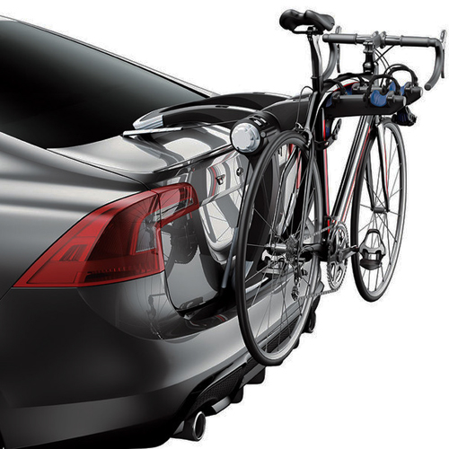 Thule 9001PRO Raceway 2 Bike Trunk Mounted Bicycle Rack Carrier