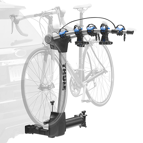 Thule 9027 Apex 4 Bike Swing Away Trailer Hitch Receiver Bicycle Racks and Carriers for 2 Hitch