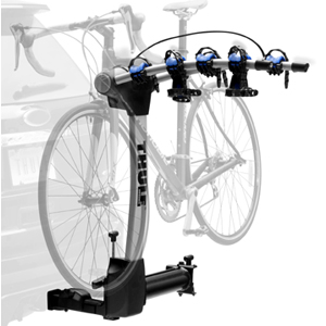 Thule Apex 4 Bike Swing Away Trailer Hitch Receiver Bicycle Racks and Carriers 9027 for 2 Hitch