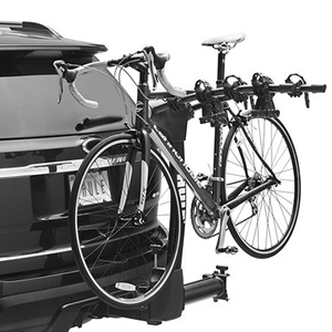 Thule 9031xt Vertex 4 Bike Swing Away Hitch Bicycle Rack with Integrated Cable Lock, 2
