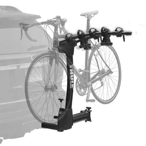 Thule Vertex 4 Bike 9031xt Swing Away Hitch Bicycle Rack with Integrated Cable Lock, 2 Hitches Only