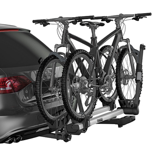Thule 9034xts T2 Pro XT 2 Bike Platform Style Hitch Bicycle Rack for 2
