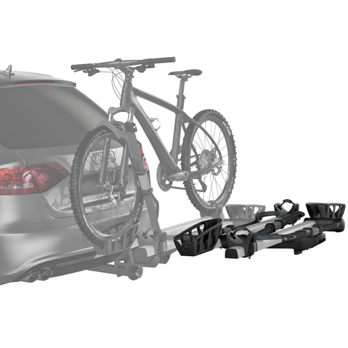 Thule 9036xts T2 Pro XT 2 Bike Add-On for 9034xts Hitch Rack, Silver