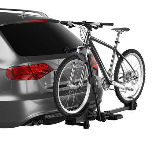 Thule T1 1 Bike 9041 Platform Style Hitch Bicycle Rack for 1.25 and 2 Receivers, Rebox Item