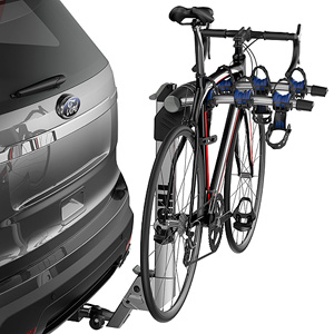 Thule 9043 Helium Aero Aluminum 3 Bike Trailer Hitch Receiver Bicycle Racks Carriers