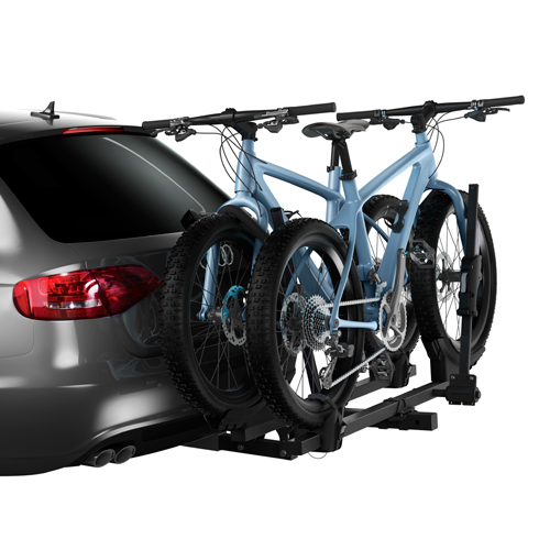 Thule T2 Classic 2 Bike 9044 Platform Style Hitch Bicycle Rack for 2 Receivers