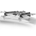 Thule 92726 PullTop Sliding Universal Ski Racks and Snowboard Carriers